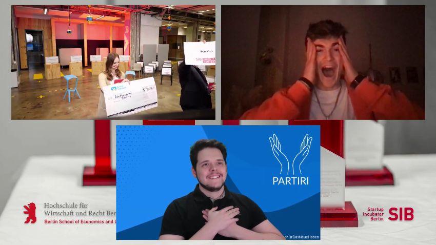 Partiri.App gewinnt den Make-It-Lean-Contest 2021